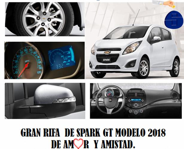 LLEGO EL SORTEO DEL AÑO!!! GÁNATE UN SPARK GT 2018 PARA AMOR Y AMISTAD