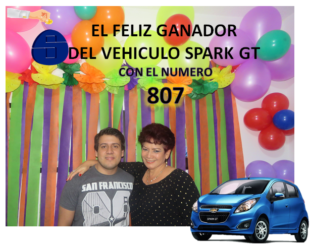 FELIZ GANADOR DEL SPARK GT 2018: PABLO ANDERSON REMOLINA POLENTINO TRABAJADOR DE LINCO !!!