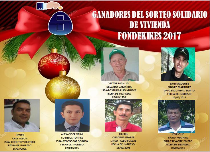 LOS BELLOS ACONTECIMIENTOS DEL MES DE DICIEMBRE 2017 FONDEKIKES