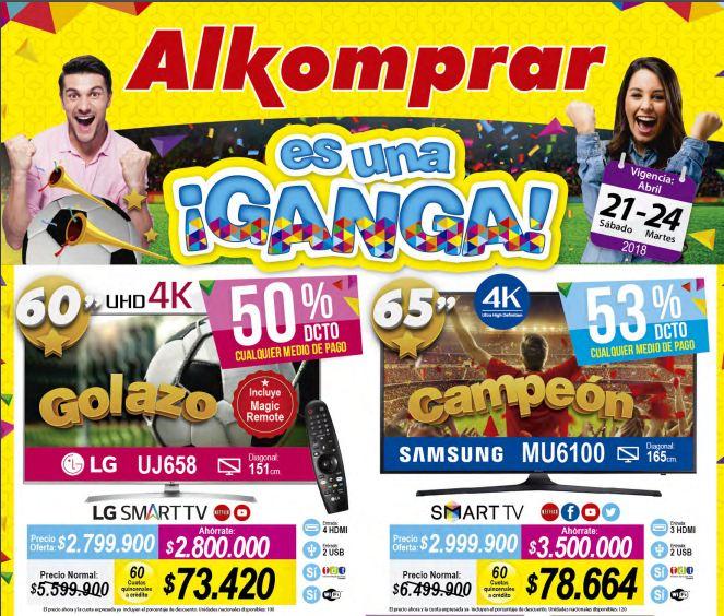 ofertas almacenes Alkomprar Una Ganga #3 Abril 21-24
