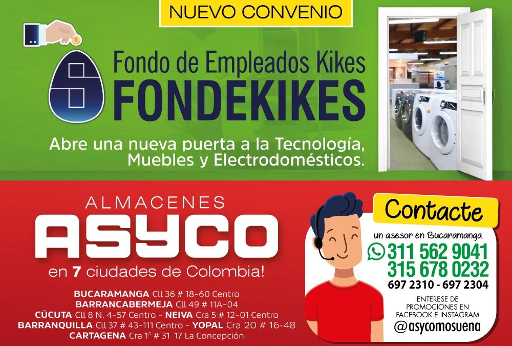 CONVENIO ASYCO Y FONDEKIKES