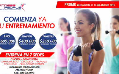 PLANES Y TARIFAS CORPORATIVAS PARA CONVENIO FITNESS PEOPLE